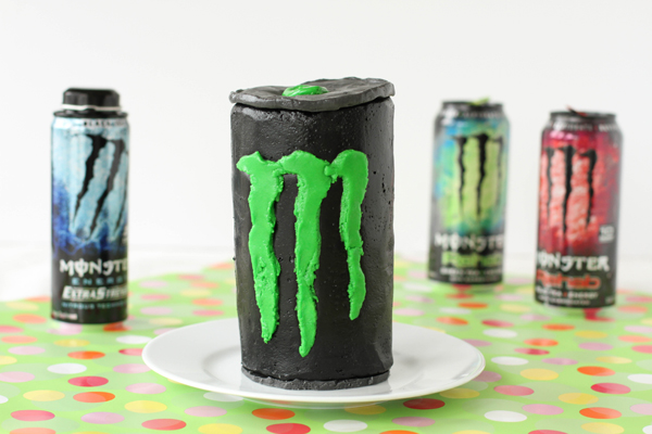 Monster Drink Cakes Pictures