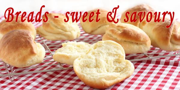 breads - sweet & savoury