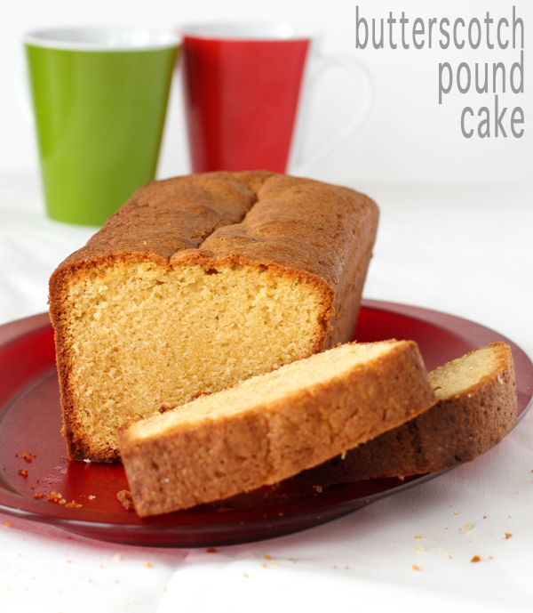 butterscotch pound cake