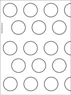 macaron baking sheet template - macaron guide sheet