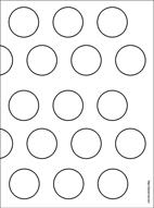 Hazelnut chocolate macarons plus printable template