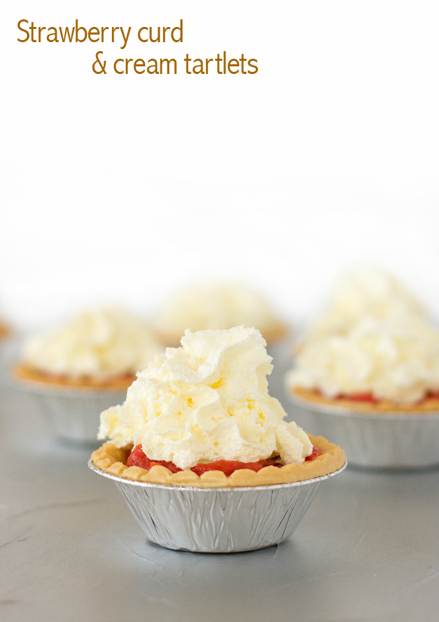 strawberry curd tartlets final