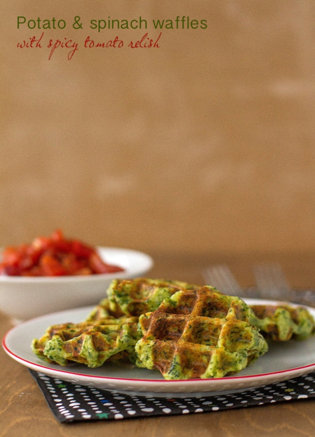potato spinach waffles final