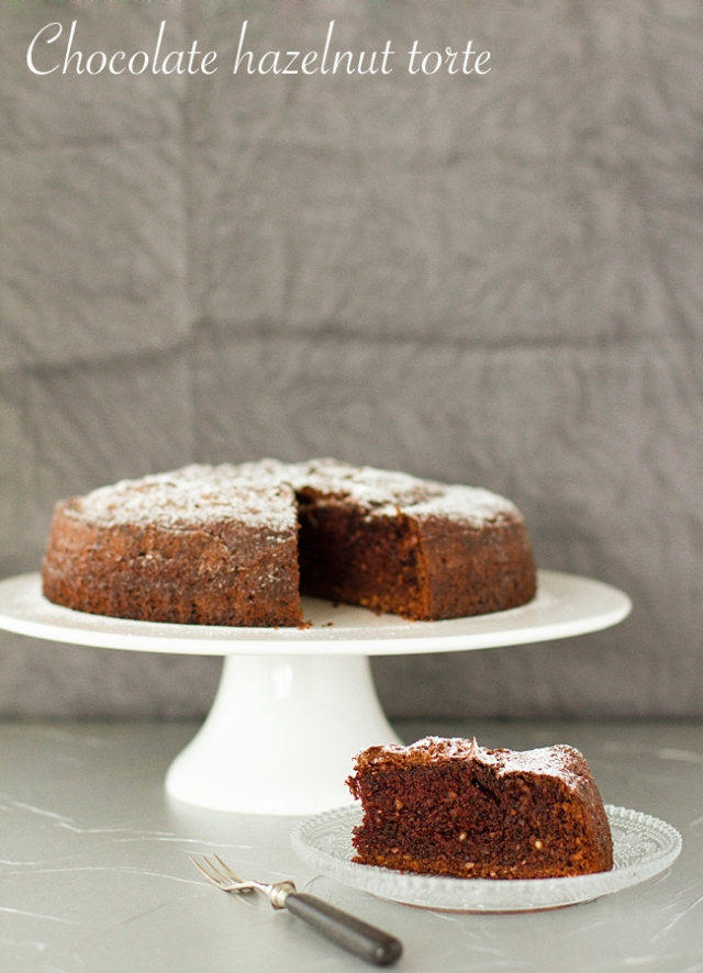 flourless chocolate hazelnut cake final