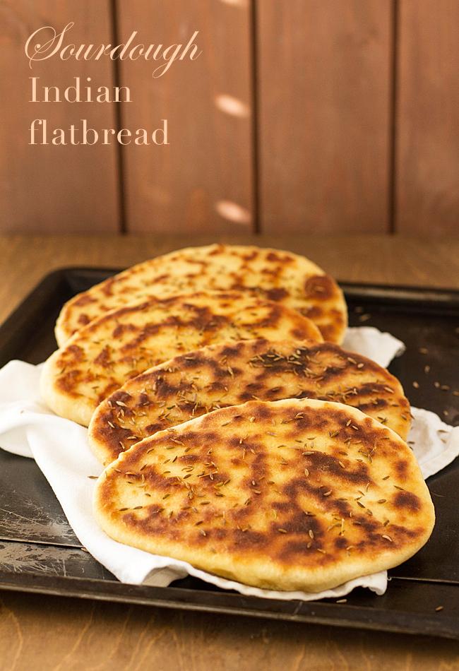 Sourdough Indian Flatbread Pizzarossa
