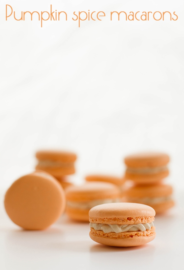 pumpkin spice macarons final
